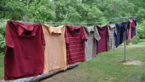 T-Shirts on Clothes Line