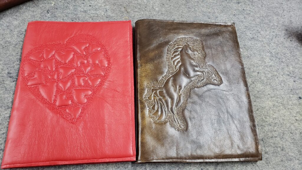 virtual leather workshop