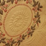 Quilted Vintage Table Cloth
